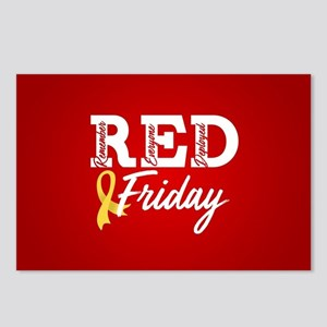 On Friday We Wear RED Postcards (Package of 8)