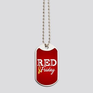 On Friday We Wear RED Dog Tags