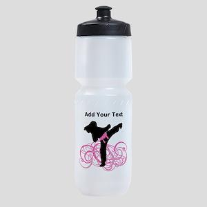 Pink Kicks Sports Bottle