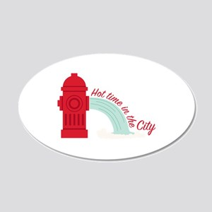 Hot City Wall Decal