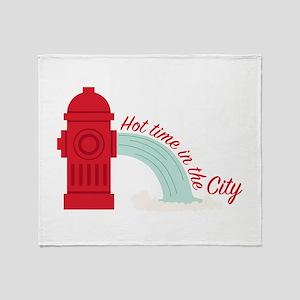Hot City Throw Blanket