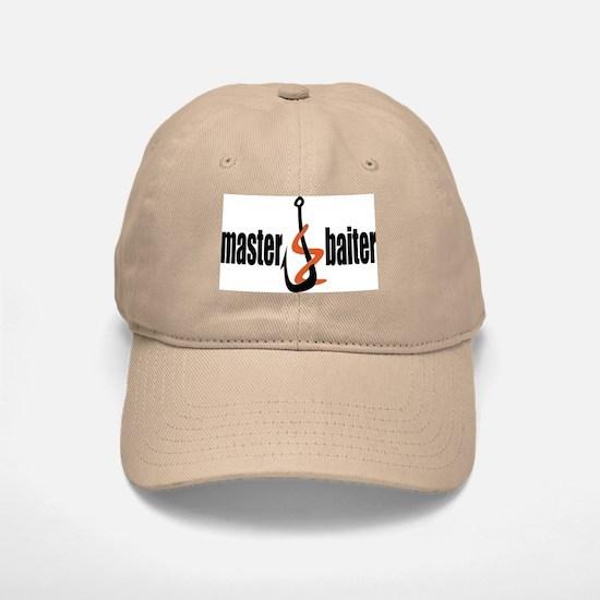 Master Baiter Baseball Baseball Cap