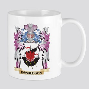 Donaldson Coat of Arms (Family Crest) Mugs