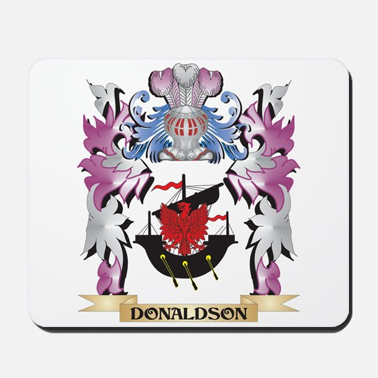 Donaldson Coat of Arms (Family Crest) Mousepad