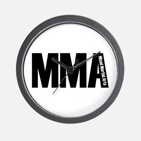 MMA - Mixed Martial Arts Wall Clock