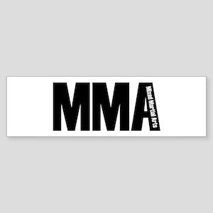 MMA - Mixed Martial Arts Bumper Sticker