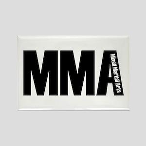 MMA - Mixed Martial Arts Rectangle Magnet