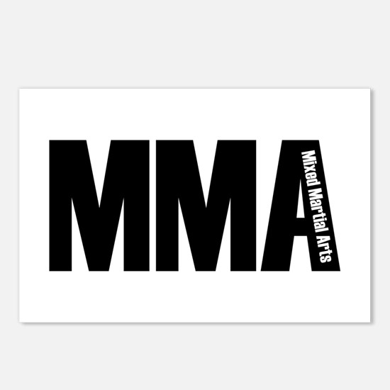 MMA - Mixed Martial Arts Postcards (Package of 8)