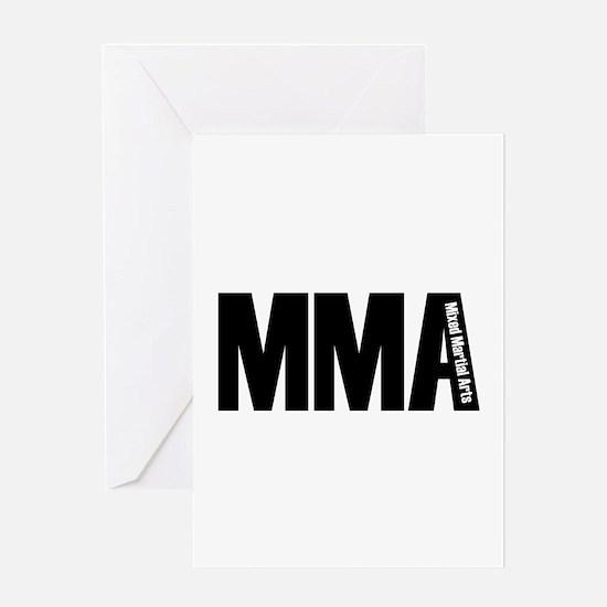 MMA - Mixed Martial Arts Greeting Card