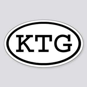 KTG Oval Oval Sticker