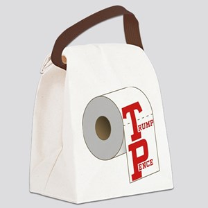 TP Toilet Paper Trump Pence Canvas Lunch Bag