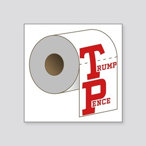 TP Toilet Paper Trump Pence Sticker