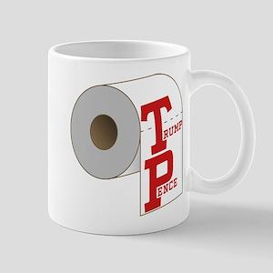 TP Toilet Paper Trump Pence Mugs