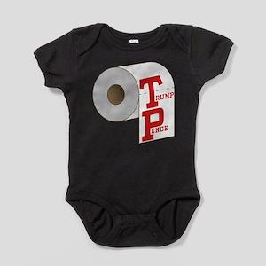 TP Toilet Paper Trump Pence Baby Bodysuit
