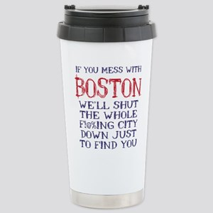 Dont Mess with Boston Mugs