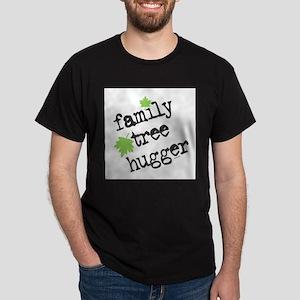 Family Tree Hugger Ash Grey T-Shirt