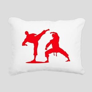 Martial arts Rectangular Canvas Pillow