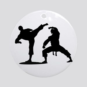 Martial arts Round Ornament
