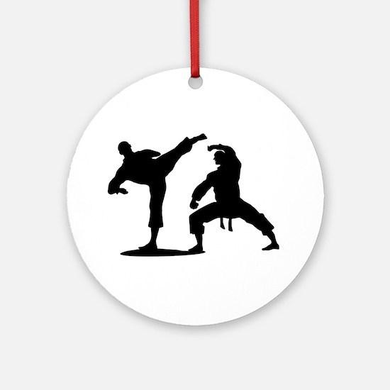 Martial arts Round Ornament