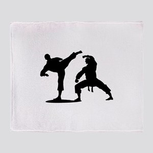 Martial arts Throw Blanket