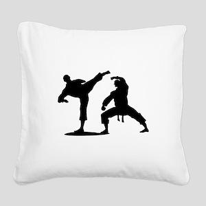 Martial arts Square Canvas Pillow