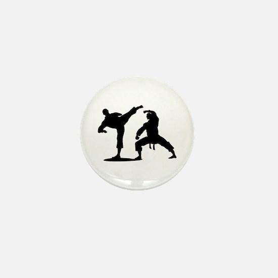 Martial arts Mini Button
