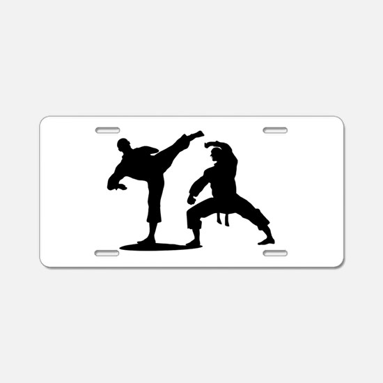 Martial arts Aluminum License Plate