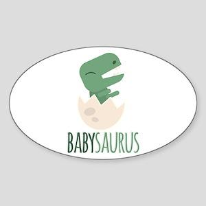 Babysaurus Sticker