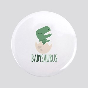 Babysaurus Button