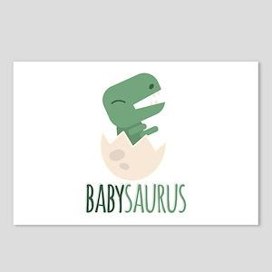 Babysaurus Postcards (Package of 8)