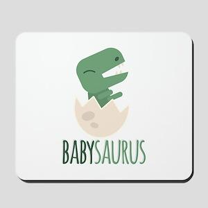 Babysaurus Mousepad