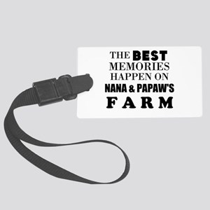 The best memories happen on the farm: Personalize