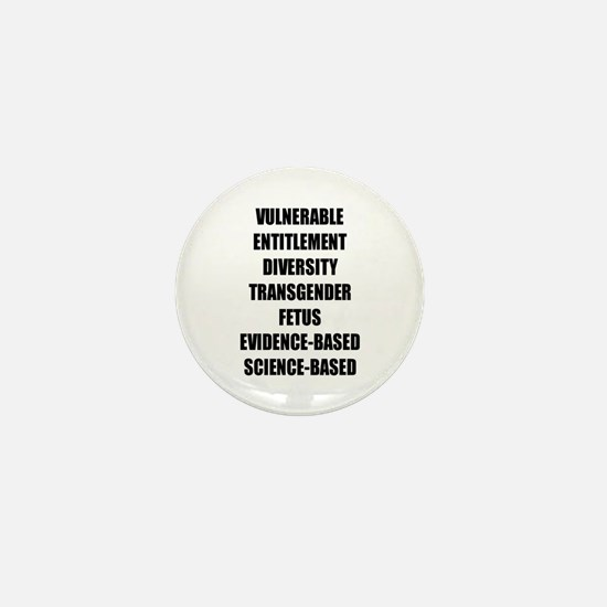 Banned Terms Mini Button