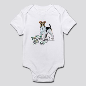 Fox Terrier Good Dog Infant Bodysuit