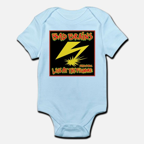 Bad Brains Live at the Fillmore 1982 Body Suit