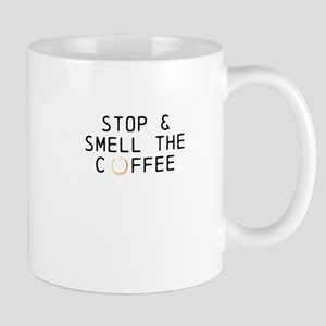 STOP SMELL THE COFFEE (Octane) Mugs