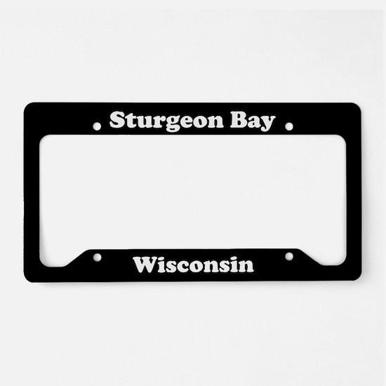 Sturgeon Bay WI - LPF License Plate Holder