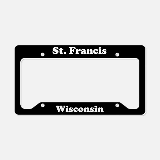 St Francis WI - LPF License Plate Holder