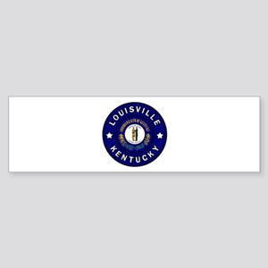 Louisville Kentucky Bumper Sticker