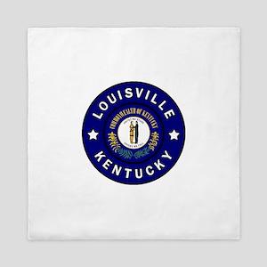 Louisville Kentucky Queen Duvet