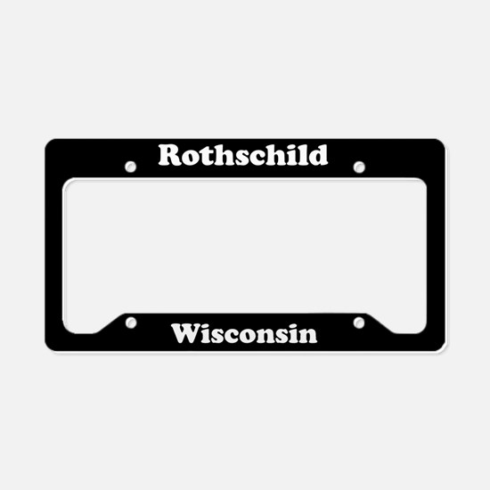 Rothschild WI - LPF License Plate Holder