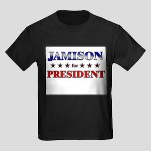 JAMISON for president Kids Dark T-Shirt