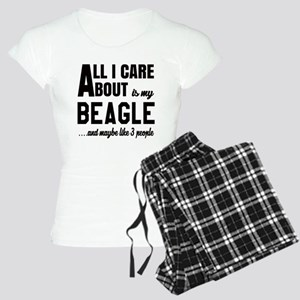 All I care about is my Beag Women's Light Pajamas
