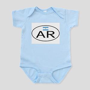 Argentina 1F Infant Bodysuit