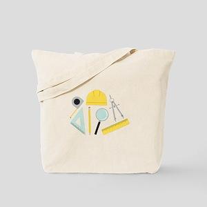 Architecture Tools Tote Bag