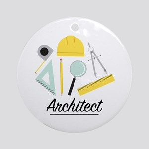 Architect Round Ornament