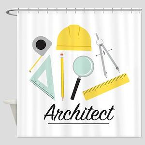 Architect Shower Curtain