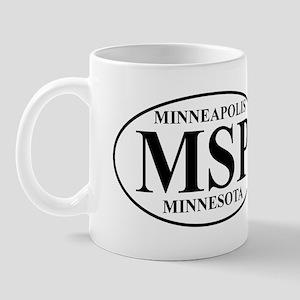 MSP Minneapolis Mug