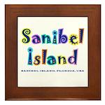 Sanibel Type - Framed Tile