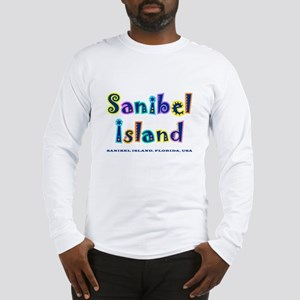 Sanibel Type - Long Sleeve T-Shirt